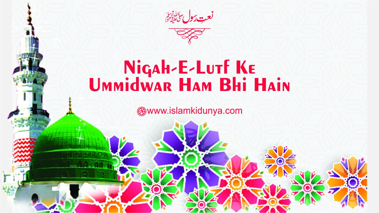 Nigah-e-Lutf Ke Ummidwar Ham Bhi Hain
